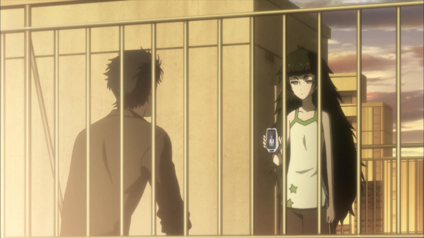 Steins;Gate 0 - Opinião Episódio 22 Maho, Rintaro e Amadeus