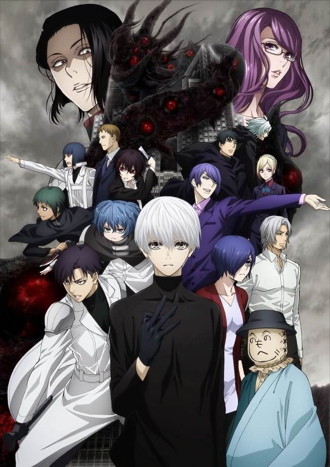 Tokyo Ghoul:re - Estreia e Novo Poster Revelados