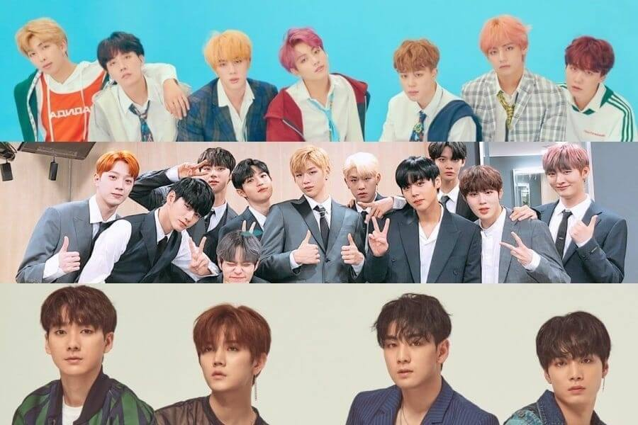 Top Boy Groups Mais Reputados de Setembro 2018