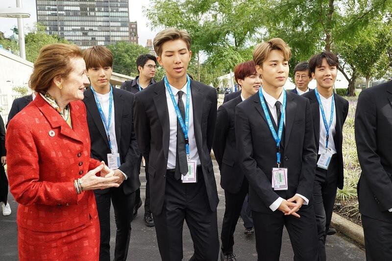 UNICEF explica porque convidou os BTS a falar nas NU