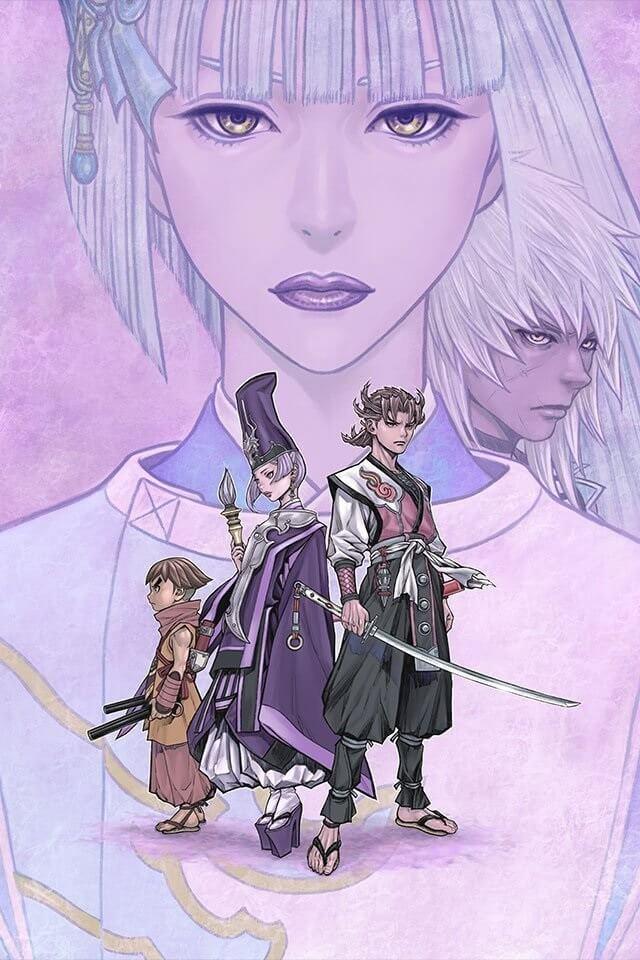 Usuzumizakura -Garo- revela Trailer e Estreia - Filme Anime
