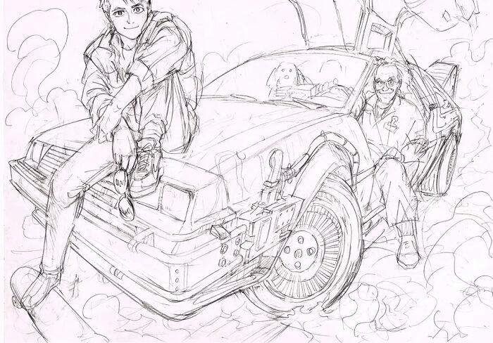 Yusuke Murata - Cancelado Manga de Regresso ao Futuro
