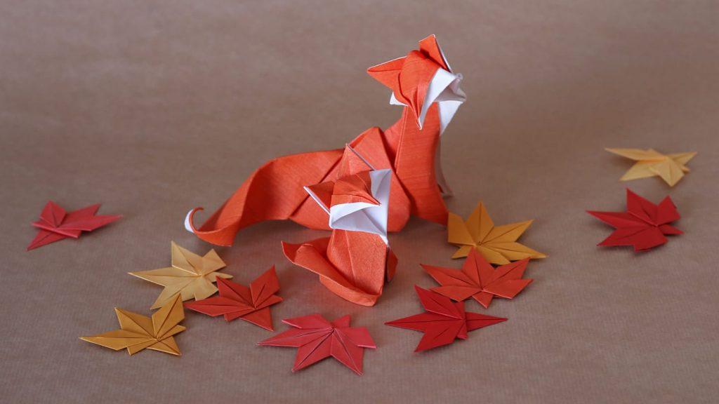 calendário de eventos outubro 2018 origami de outono