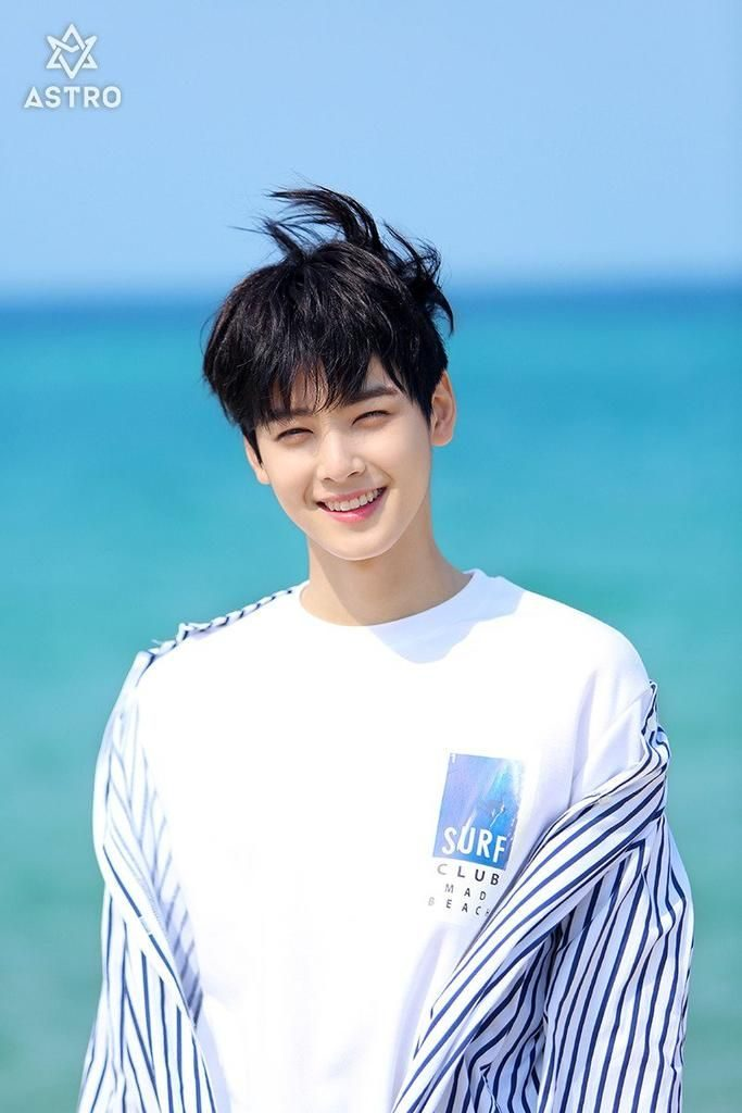 top membros de boy groups setembro 2018 Cha Eun Woo astro