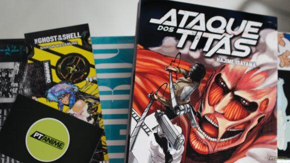 Manga Ataque dos Titãs Volume 1 – Hajime Isayama