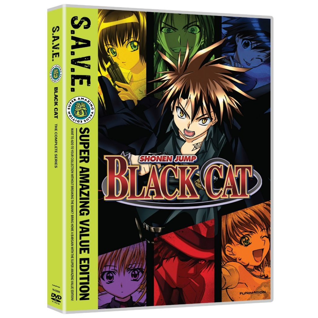 DVDs Blu-rays Anime Maio 2012 - Black Cat The Complete Series SAVE