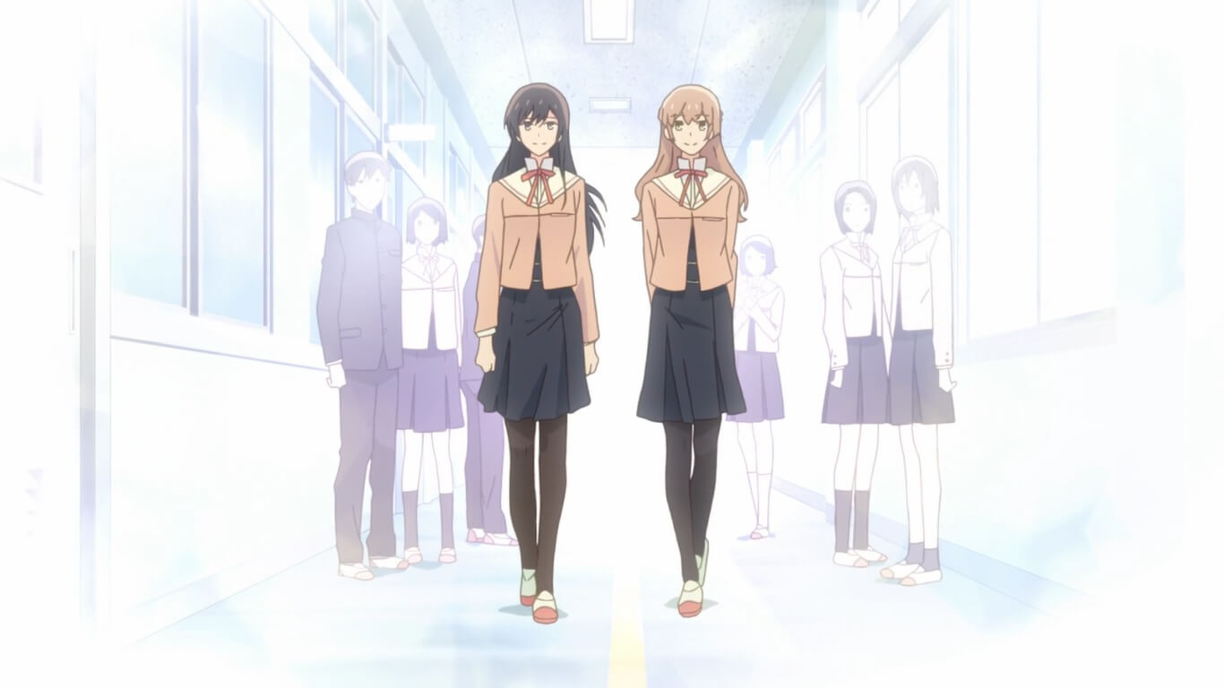 Bloom Into You - Episódio 2 Opinião Touko e Sayaka