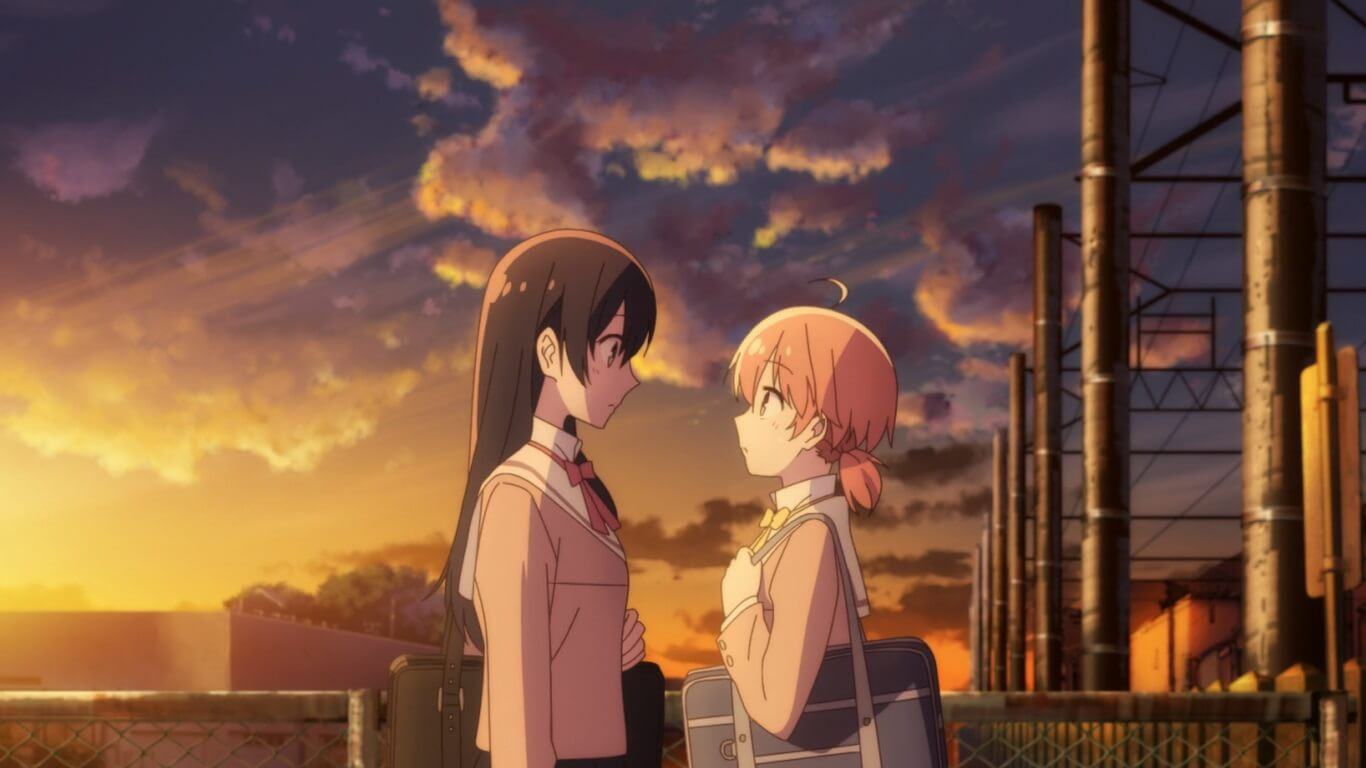 Bloom Into You - Episódio 2 Opinião Yuu e Touko