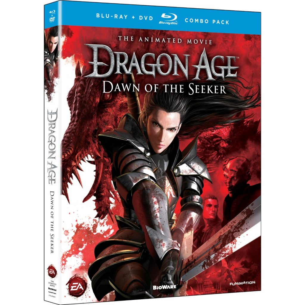 DVDs Blu-rays Anime Maio 2012 - Dragon Age Dawn of the Seeker