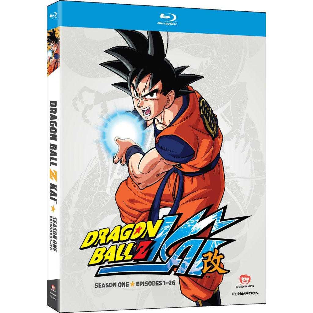 DVDs Blu-rays Anime Maio 2012 - Dragon Ball Z Kai Season One