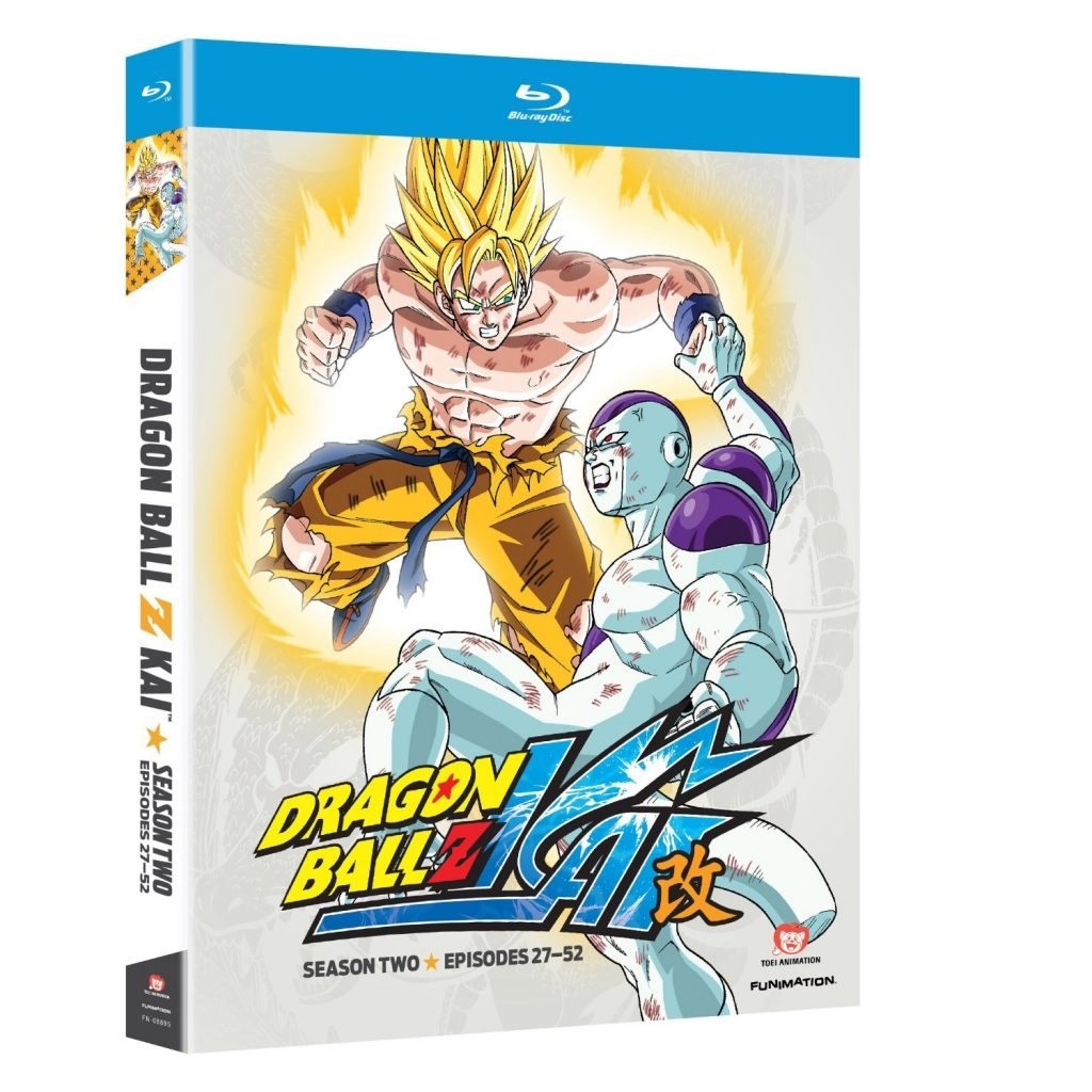 DVDs Blu-rays Anime Maio 2012 - Dragon Ball Z Kai Season Two