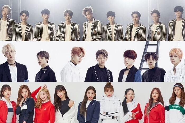 EXO, BTS e TWICE irão estar presentes no2018 SBS Gayo Daejeon