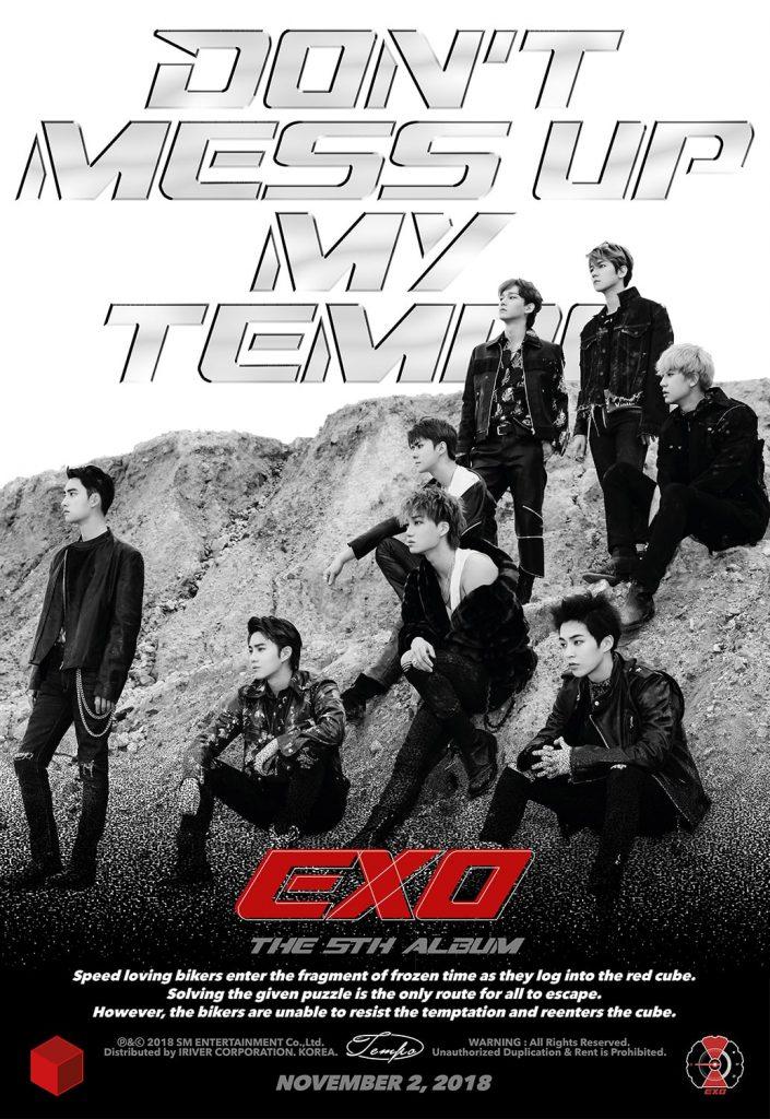 """EXO lançam Novos Teasers para Comeback com """"Don't Mess Up My Tempo"""""""