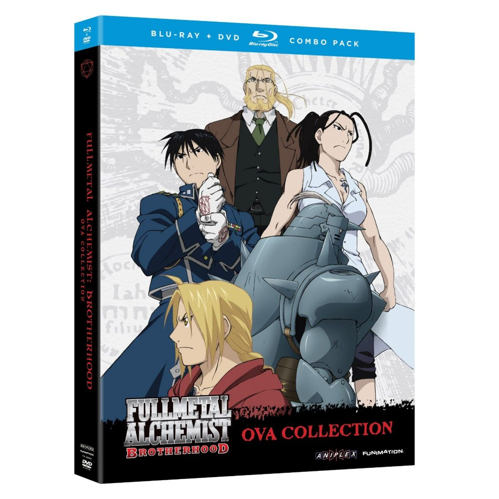 DVDs Blu-rays Anime Maio 2012 - Fullmetal Alchemist Brotherhood OVA Collection