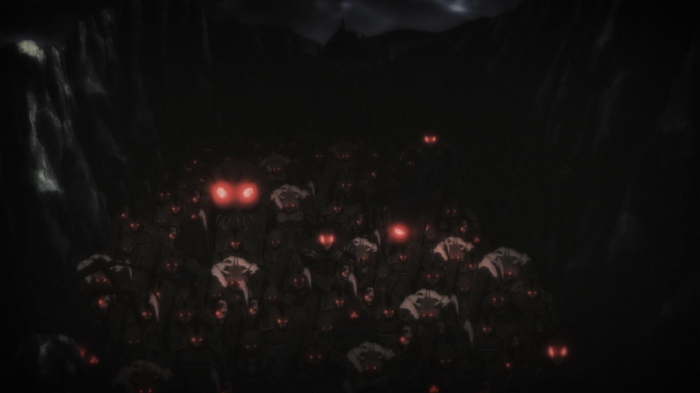 Goblin Slayer - Episódio 3 Opinião exército de demónios