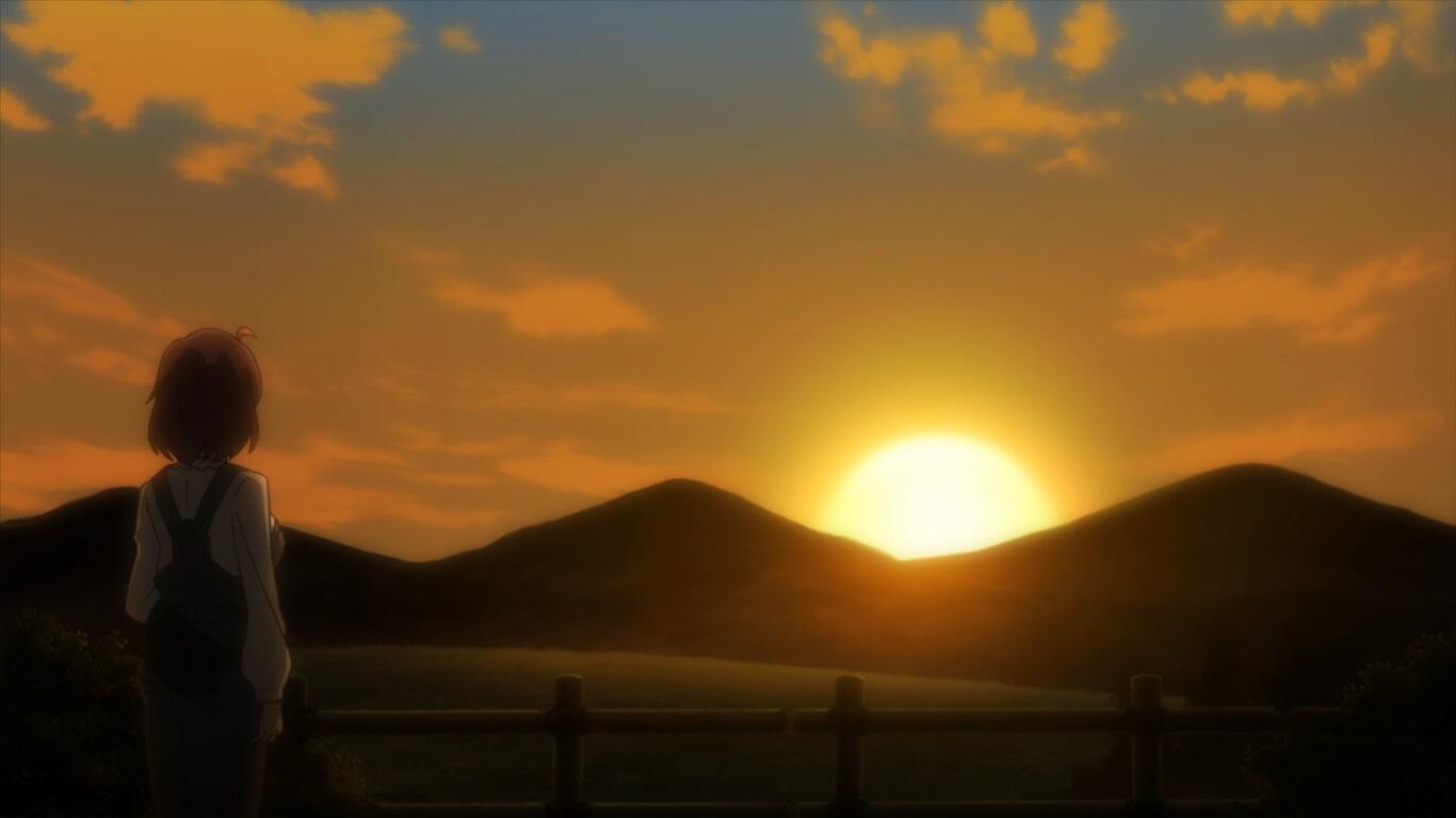Goblin Slayer - Episódio 3 Opinião melhor amiga a ver o pôr do sol