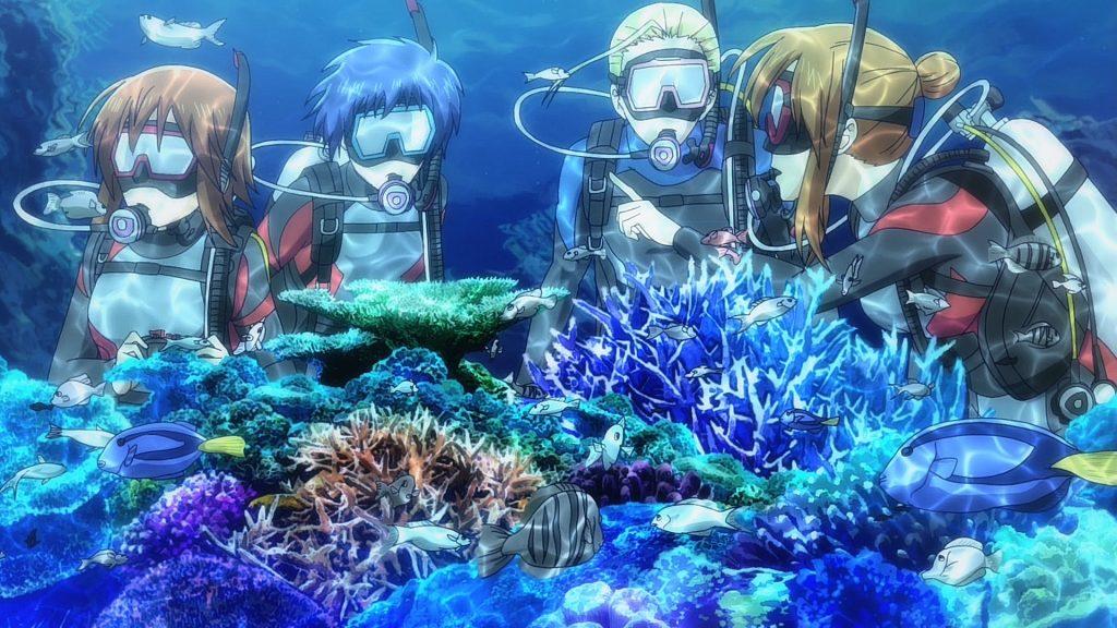 Grand Blue - Análise - Mergulho de Garrafa