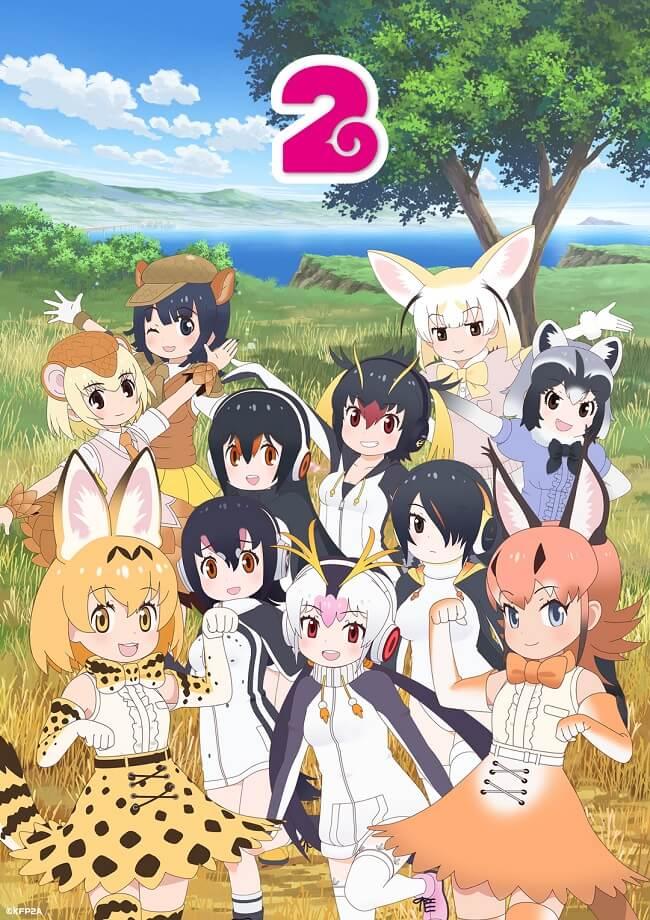 Kemono Friends 2 - Anime revela Equipa Técnica e Estreia