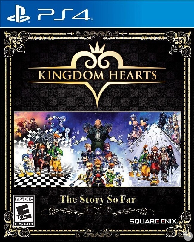 Kingdom Hearts: The Story So Far - Coleção PS4 Anunciada