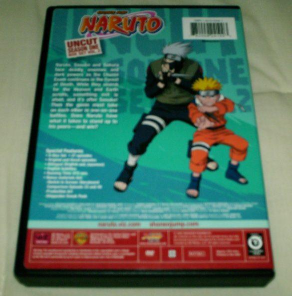 Naruto Uncut Box Set Season One Volume 2 - DVD Viz Media