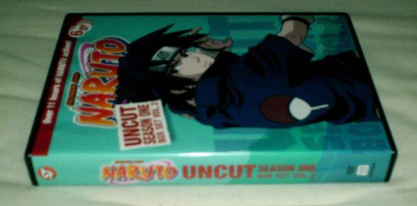 Naruto Uncut Box Set Season One Volume 2 - Unboxing ptAnime