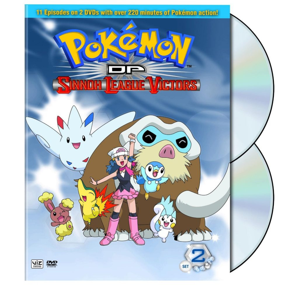 DVDs Blu-rays Anime Maio 2012 - Pokémon DP Sinnoh League Victors Set Two