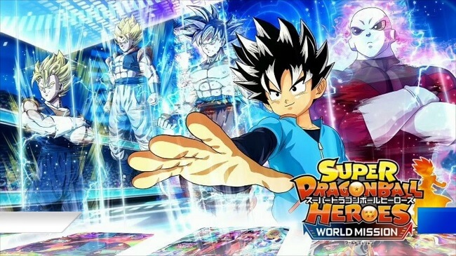 Super Dragon Ball Heroes World Mission revelado para a Switch