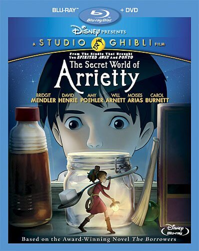 DVDs Blu-rays Anime Maio 2012 - The Secret World of Arrietty