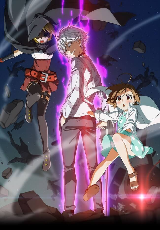 Toaru Kagaku no Accelerator - Manga vai receber Anime | Toaru Kagaku no Accelerator - Anime revela Anúncio TV