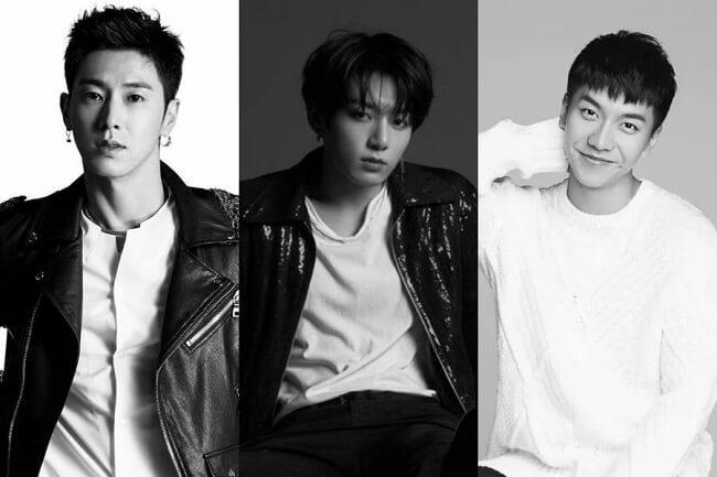 coreanos escolhem celebridades que fazem qql coisa bem