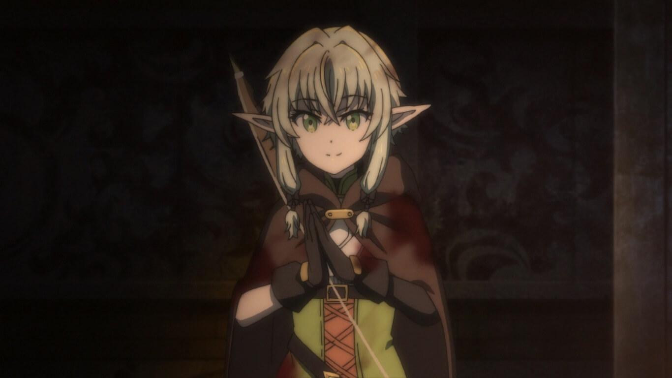 Goblin Slayer - Episódio 4 Opinião elfo fofinha