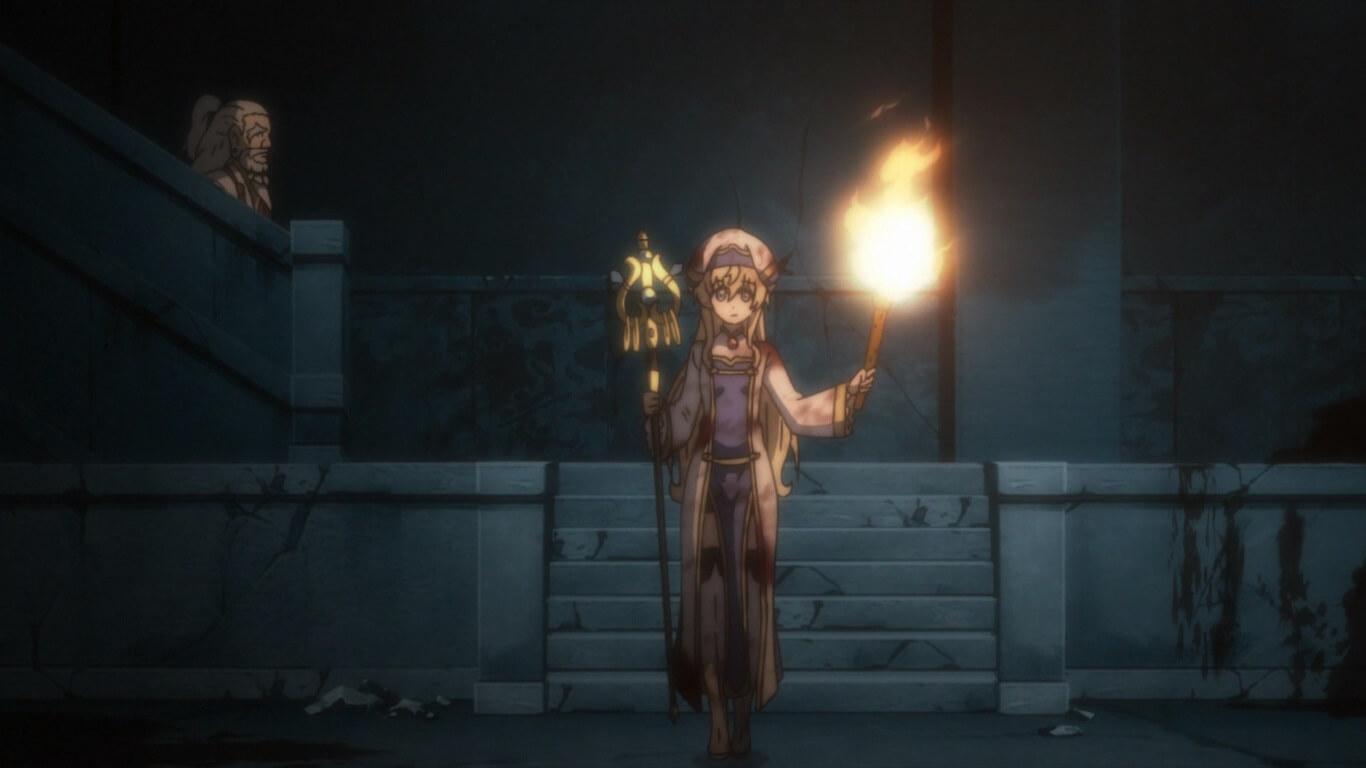 Goblin Slayer - Episódio 4 Opinião priestess