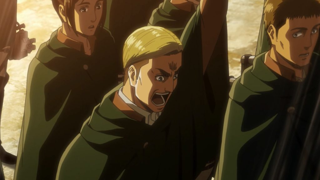 Attack on Titan 3 Episódio 49 - Erwin Smith