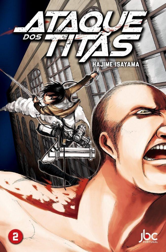 Manga Ataque dos Titãs Volume 2
