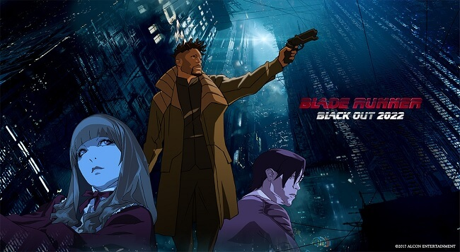 Blade Runner Anime pela Adult Swim e Crunchyroll