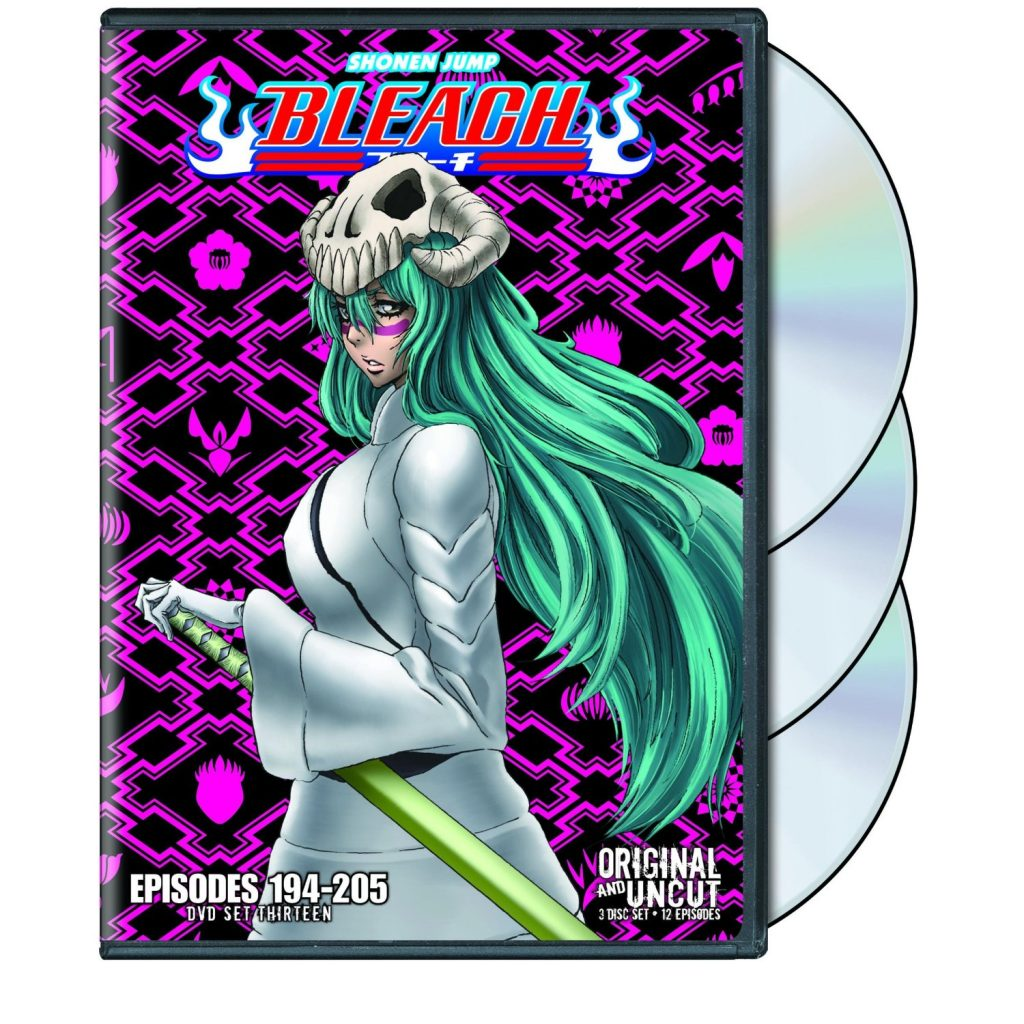 DVDs Blu-rays Anime Junho 2012 - Bleach Uncut Set 13