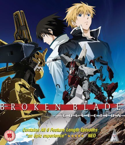 DVDs Blu-rays Anime Junho 2012 - Broken Blade Collection