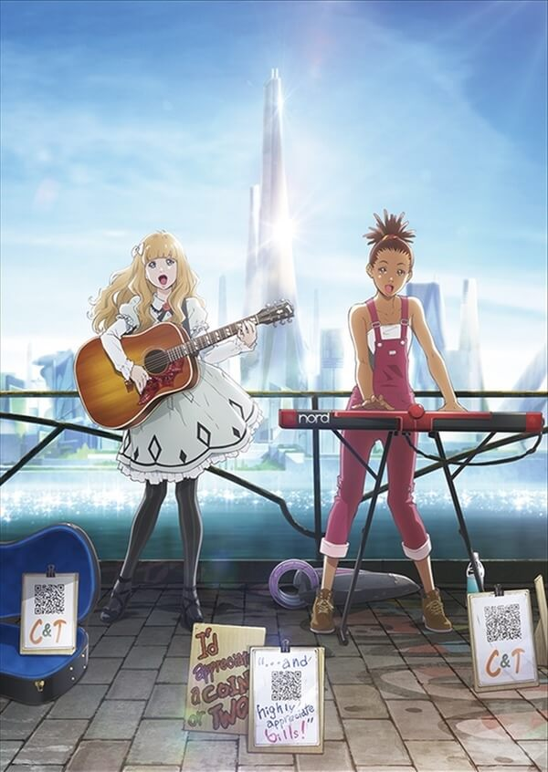 Carol & Tuesday - Anime Original revela Novos Detalhes | Carole & Tuesday - Anime Original revela Mais Personagens | Carole & Tuesday revela Estreia Mundial na NETFLIX
