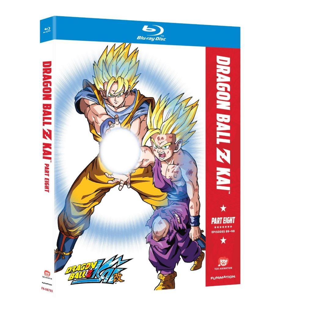 DVDs Blu-rays Anime Junho 2012 - Dragon Ball Z Kai Part Eight