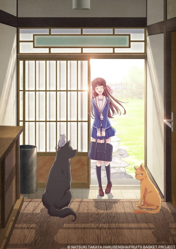 Fruits Basket - Novo Anime revela Equipa Técnica e Elenco