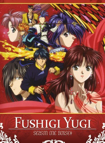 DVDs Blu-rays Anime Junho 2012 - Fushigi Yugi Season One