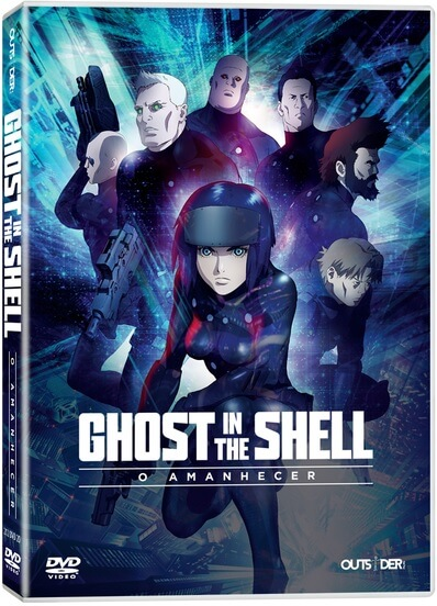 GHOST IN THE SHELL: O AMANHECER pela Outsider Films
