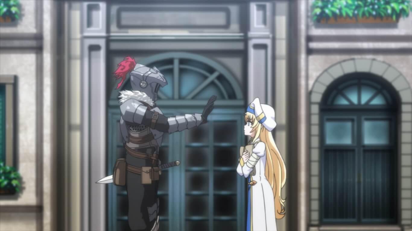 Goblin Slayer - Episódio 8 Opinião Goblin Slayer e Priestess fofinho