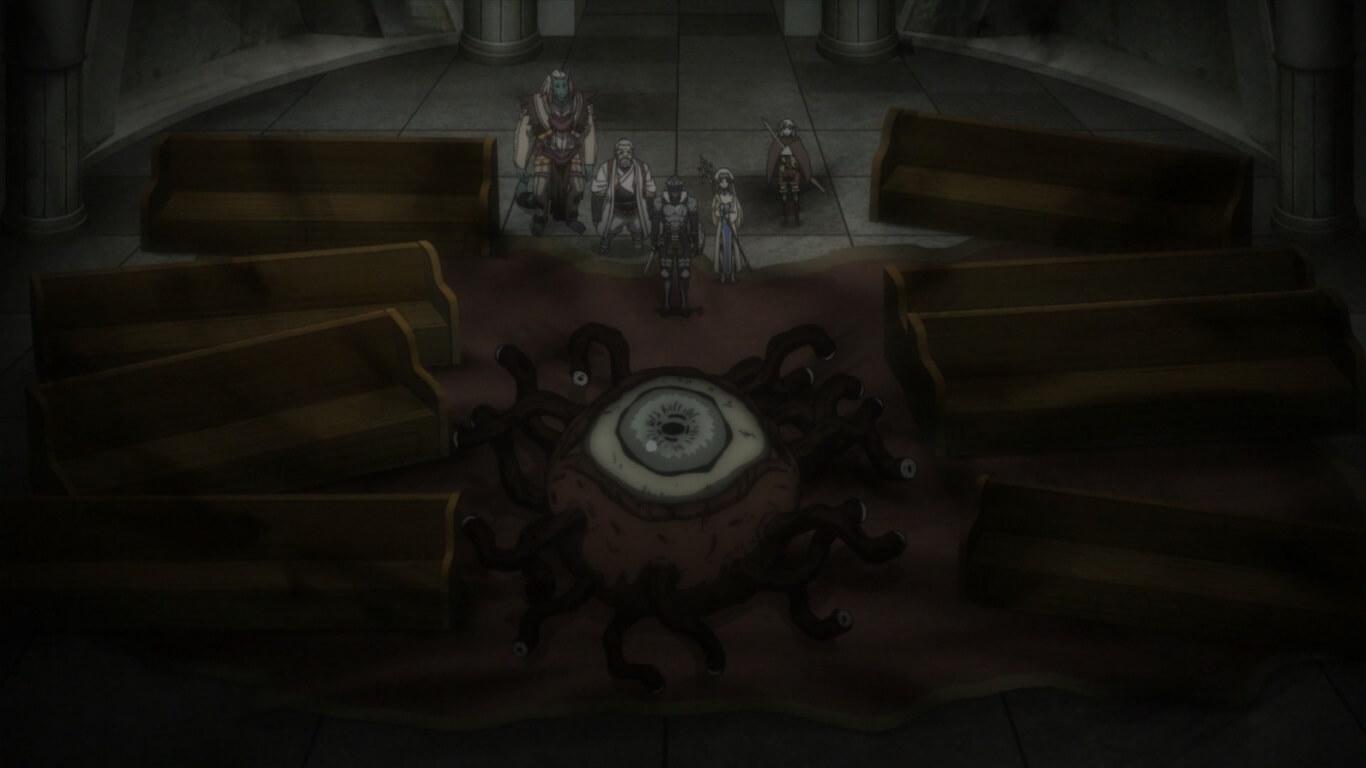 Goblin Slayer - Episódio 8 Opinião monstro