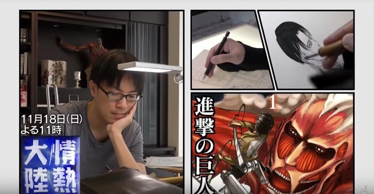 Attack on Titan - Manga entra no ÚLTIMO Arc | Attack on Titan - Hajime Isayama e o Fim do Manga