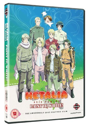 DVDs Blu-rays Anime Junho 2012 - Hetalia Axis Powers Paint It White