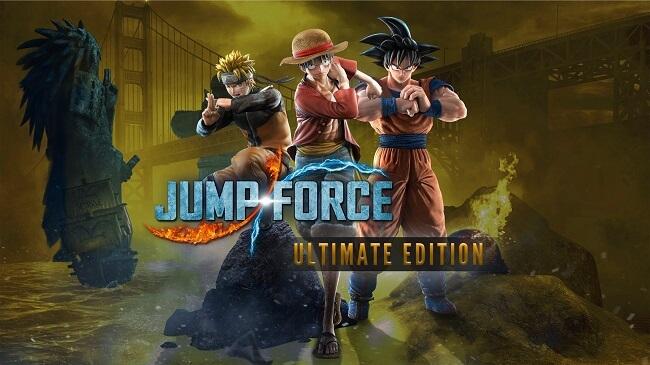 JUMP FORCE anuncia Bónus Pré-Encomenda e Edições