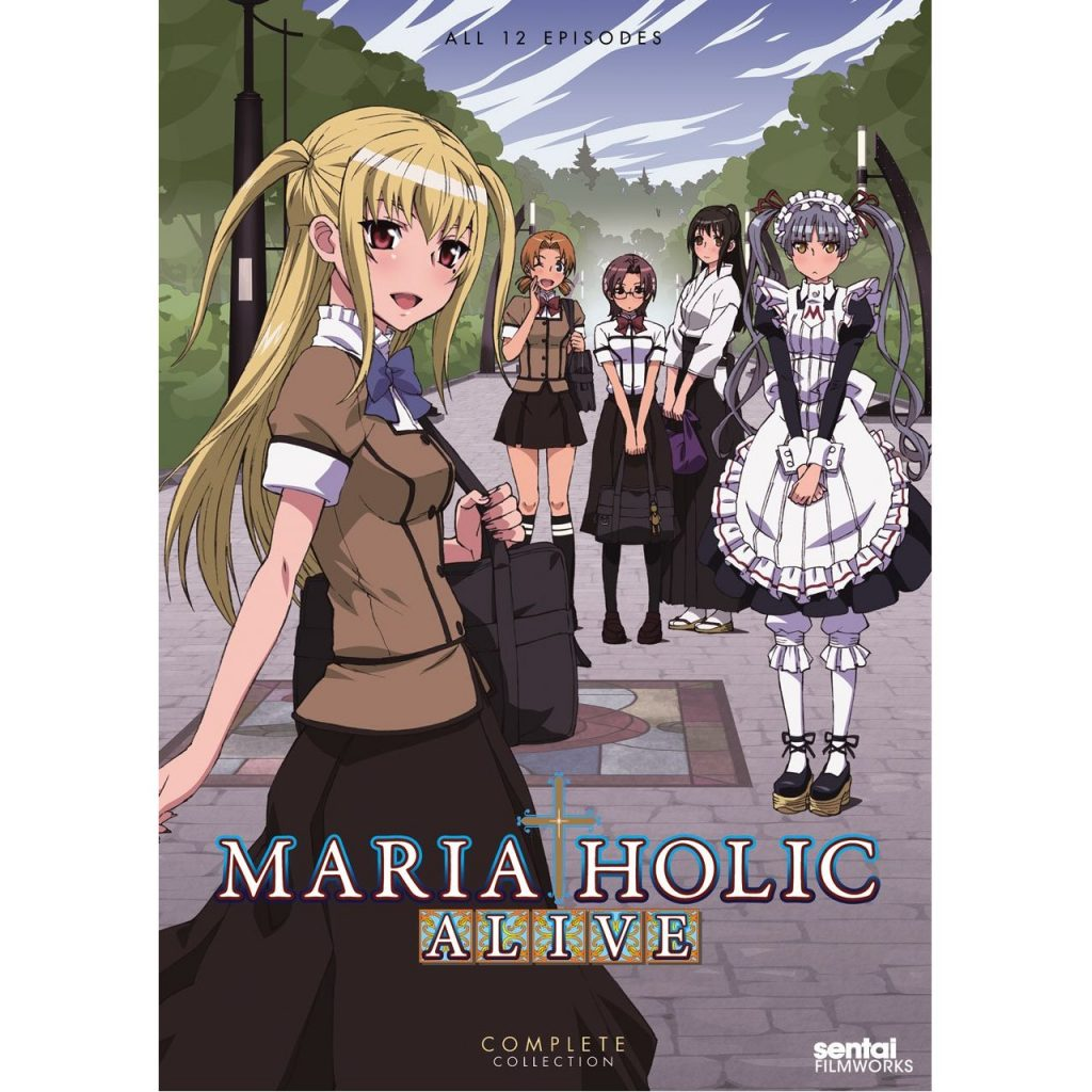 DVDs Blu-rays Anime Junho 2012 - Maria Holic Alive Complete Collection