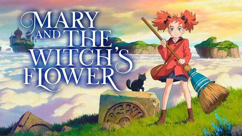 Mary and the Witch's Flower BREVEMENTE em Portugal