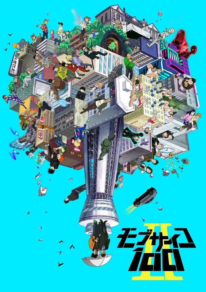 Mob Psycho 100 II - Anime revela Dia de Estreia e Novo Poster
